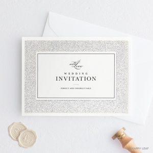 結婚式 招待状 STELLA シルバー