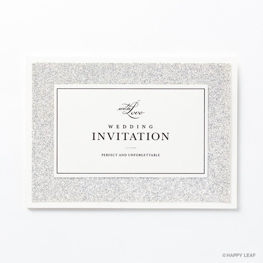 結婚式 招待状 STELLA シルバー 2
