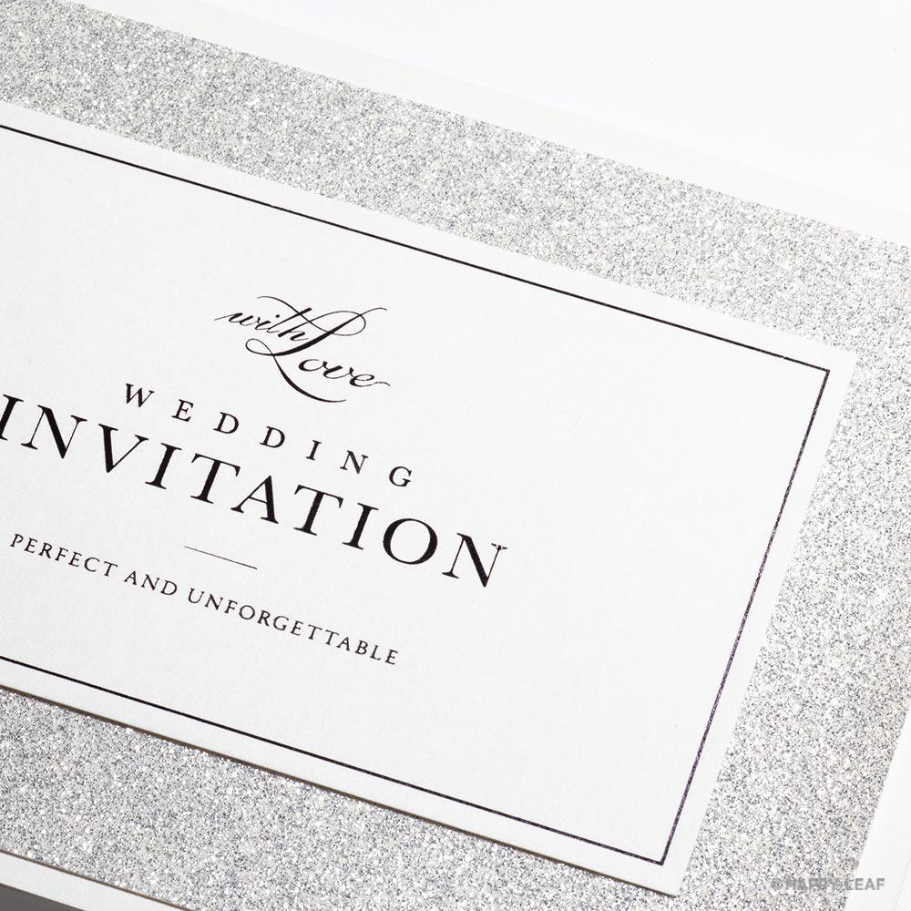 結婚式 招待状 STELLA シルバー 3