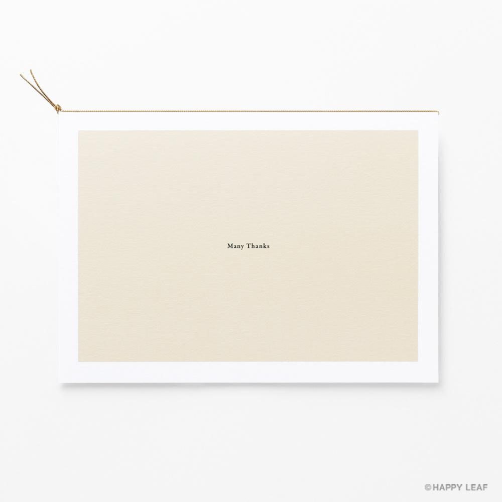 結婚式 招待状 nino アイボリー フレーム 4