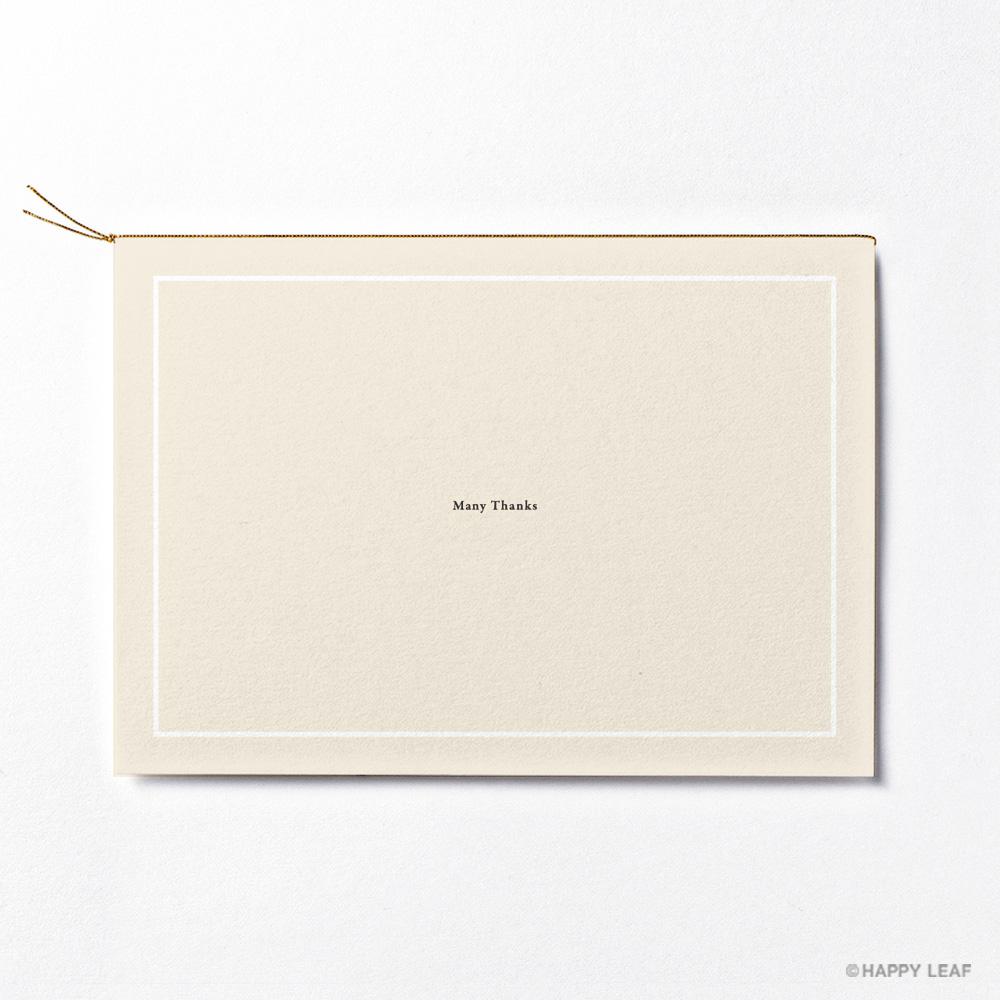 結婚式 招待状 nino アイボリー ライン 4