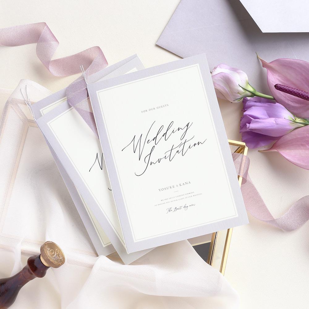 結婚式 招待状 Lila 1