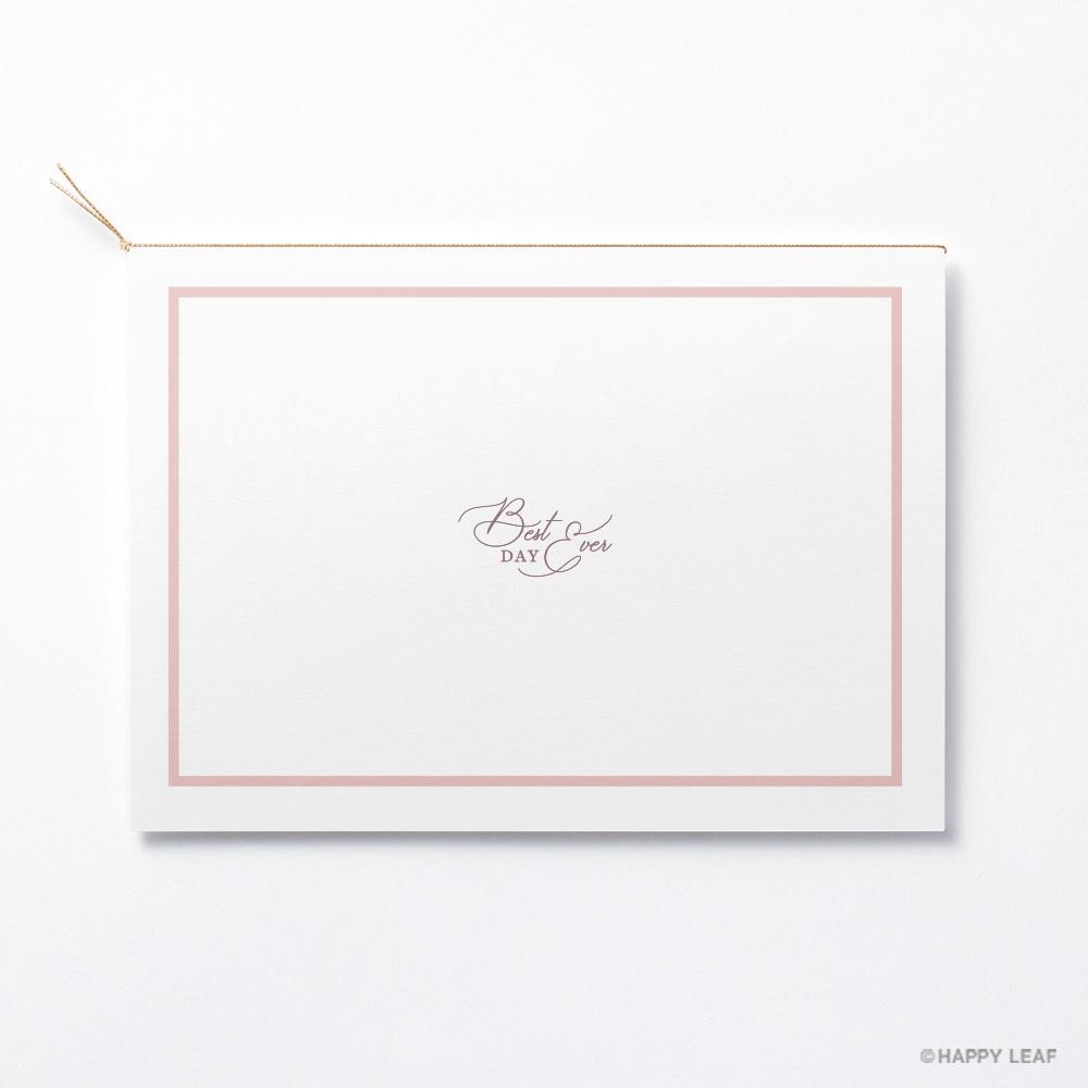 結婚式 招待状 aimer ホワイト 4