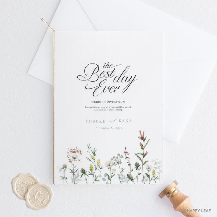 結婚式 招待状 feld