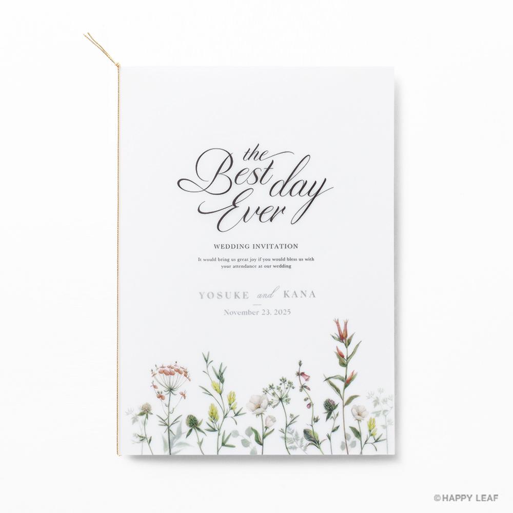 結婚式 招待状 feld 2