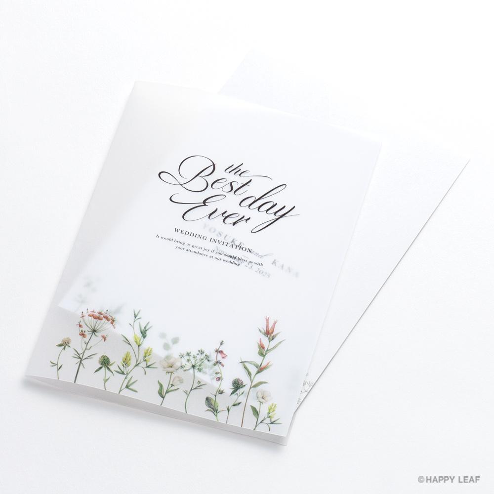 結婚式 招待状 feld 3