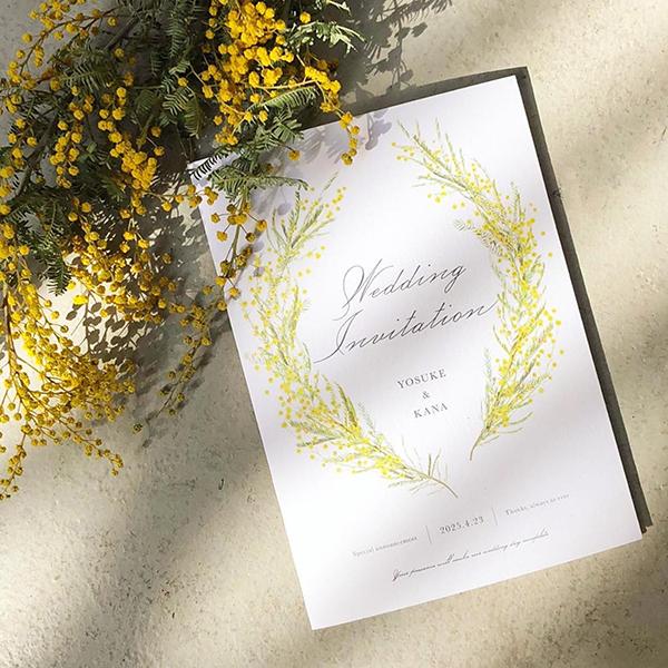 【サンプル請求あり♪】最新トレンドから人気デザインまで☆ 2020年春婚におすすめの結婚式招待状デザイン9選!