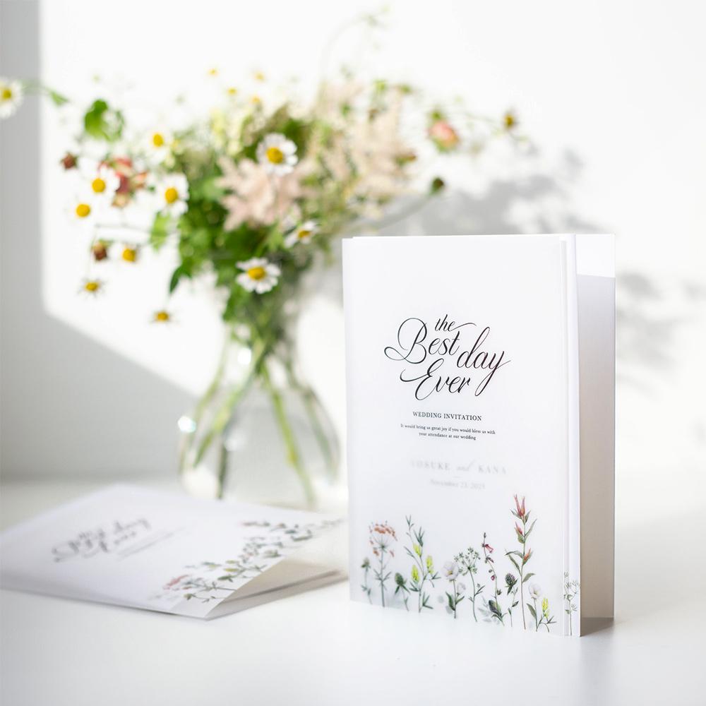 結婚式 招待状 feld 1