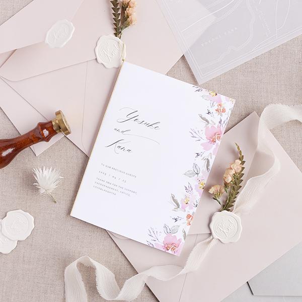 結婚 式 招待 状 いつ