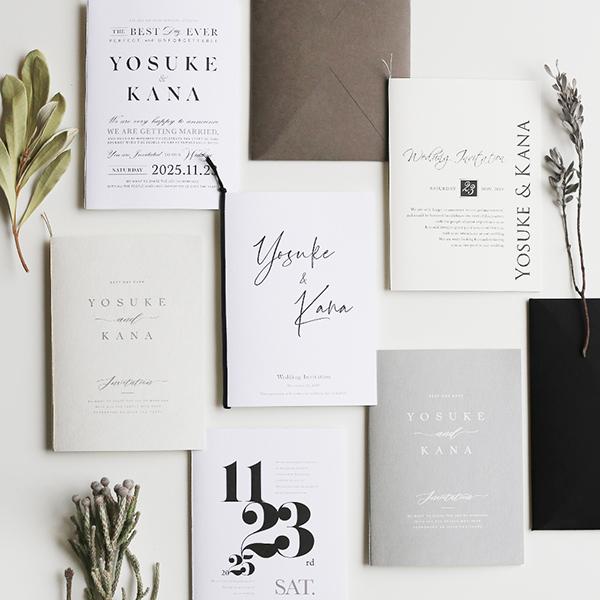 2019年ハッピーリーフのインスタで人気の結婚式招待状デザインベスト10!【無料サンプル請求あり♪】