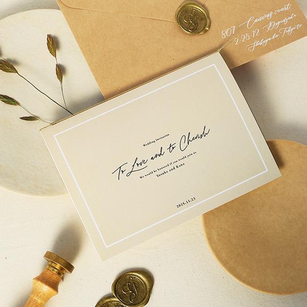 おしゃれな結婚式を叶える!大人シンプル婚におすすめの招待状デザイン9選【無料サンプル請求あり♪】