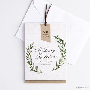 結婚式 招待状 foglia