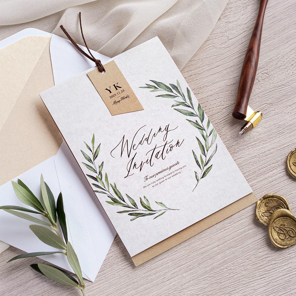 結婚式 招待状 foglia 1