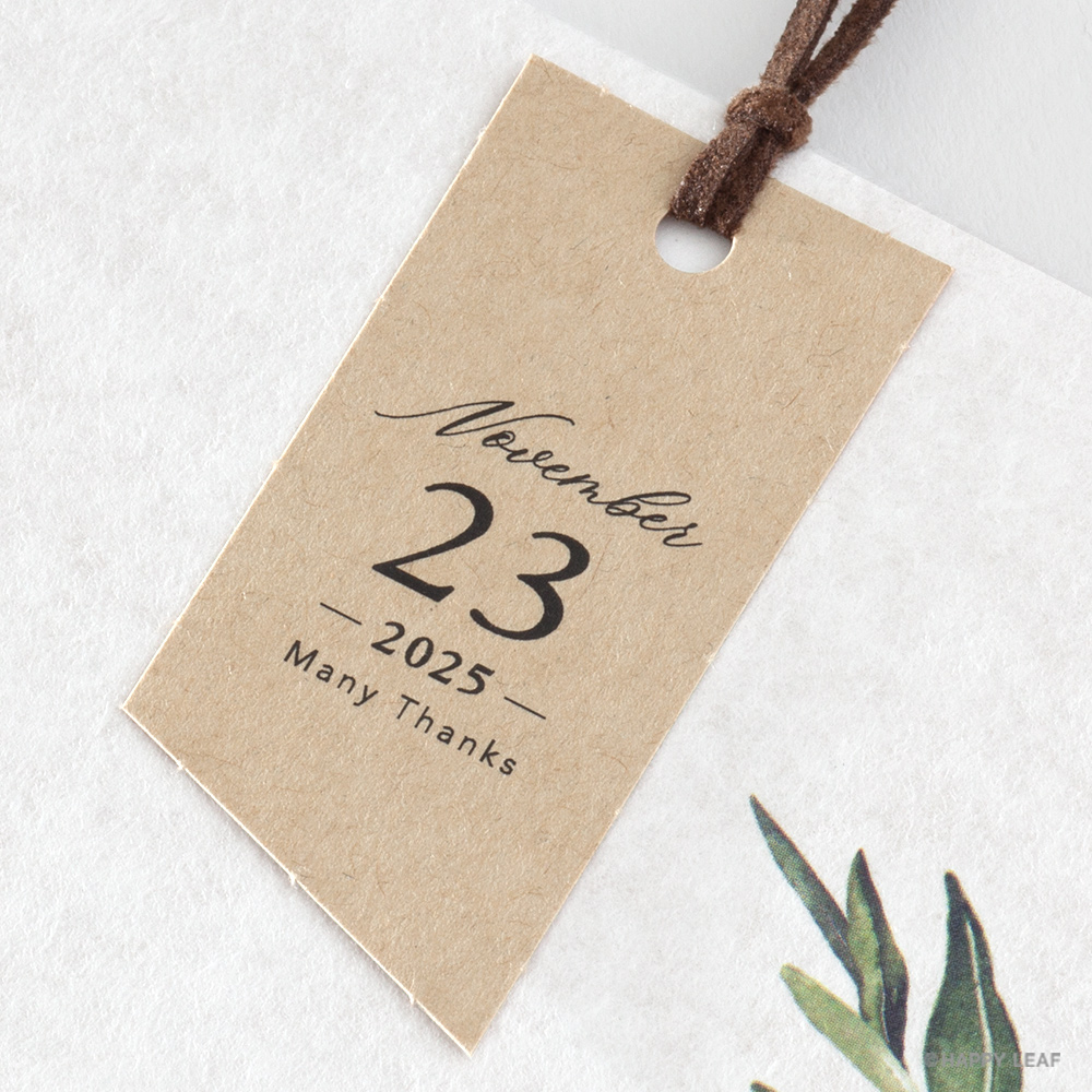 結婚式 招待状 foglia 5