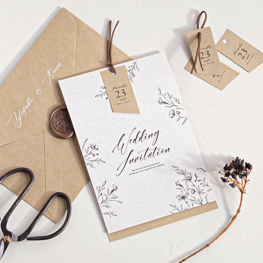 【結婚式のマナー】招待状で使う「時候の挨拶」とは?基本的なルールと月ごとの例文もご紹介♪