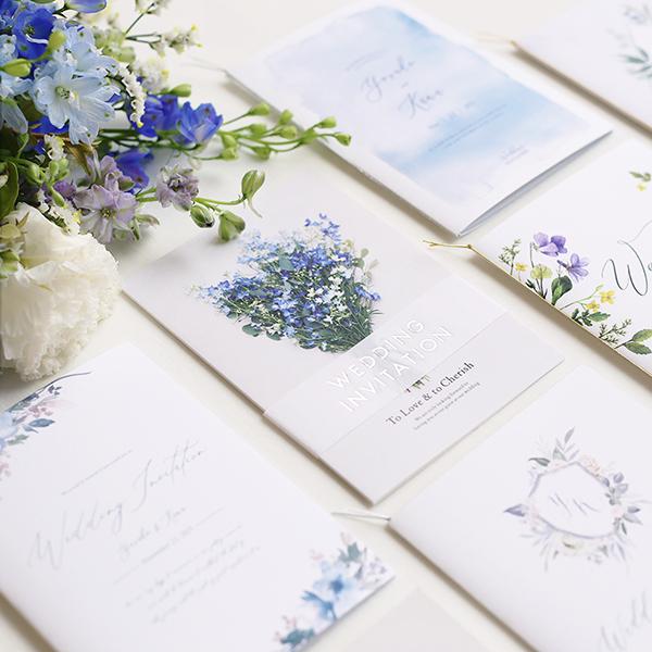 【七夕婚からリゾート婚まで♪】夏の結婚式におすすめの招待状&席次表デザイン9選