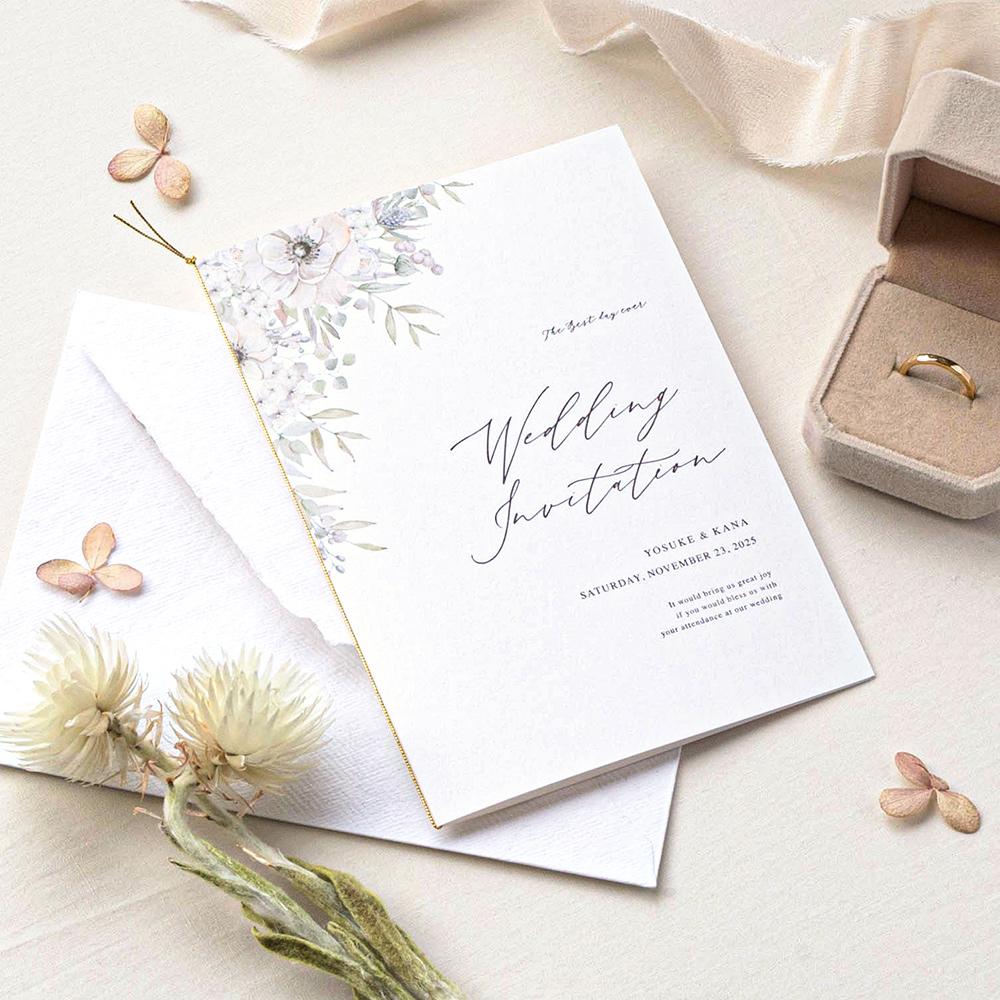 結婚式 招待状 verite 1