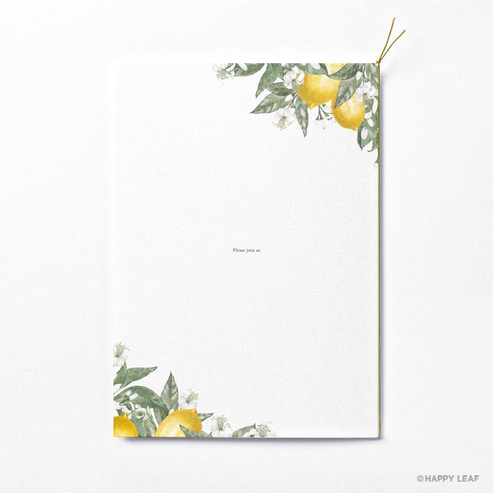 結婚式 招待状 リモーネ 4