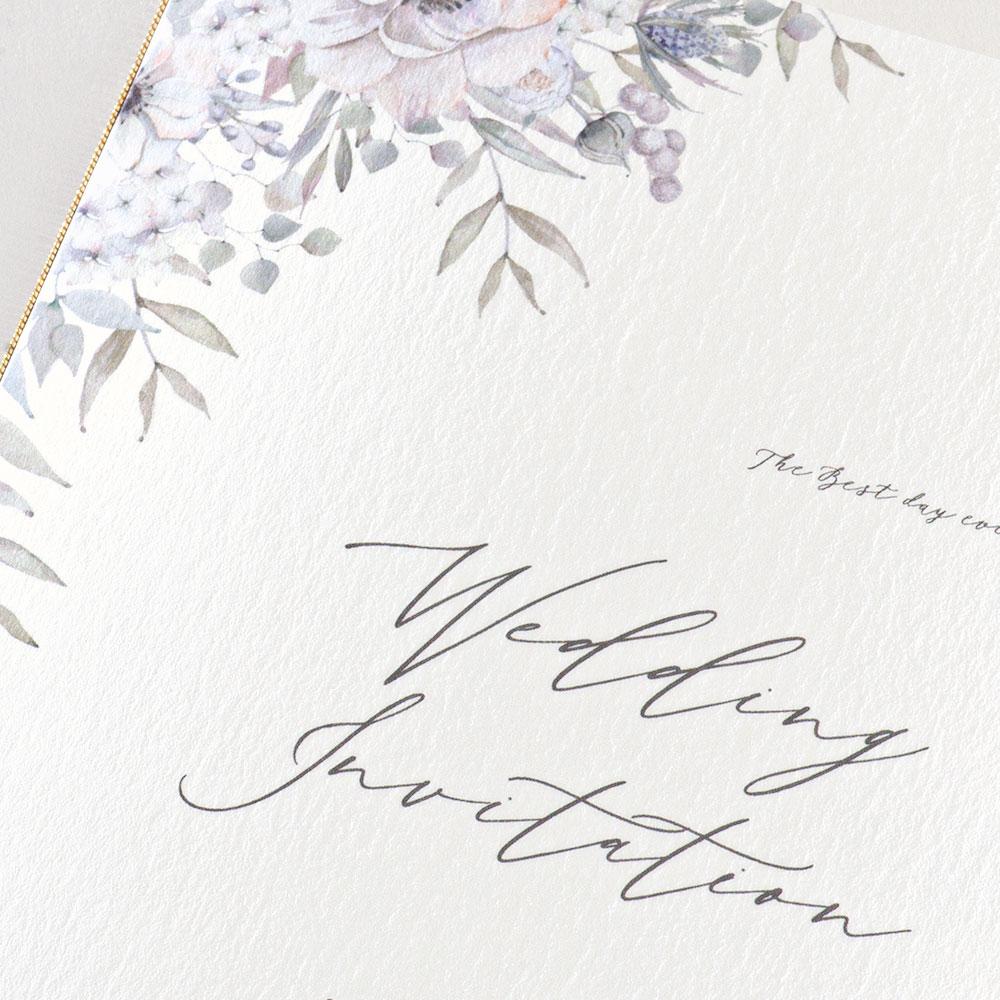 結婚式 招待状 verite 3