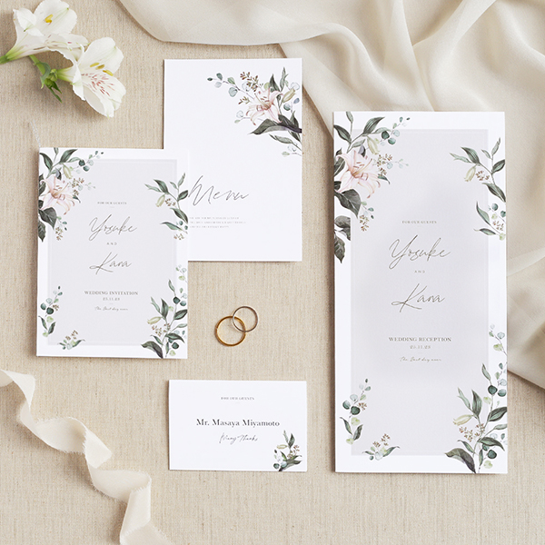 【結婚式の招待状や席次表をプロに頼んだほうがいい理由とは?】ハッピーリーフの「7つのこだわり」
