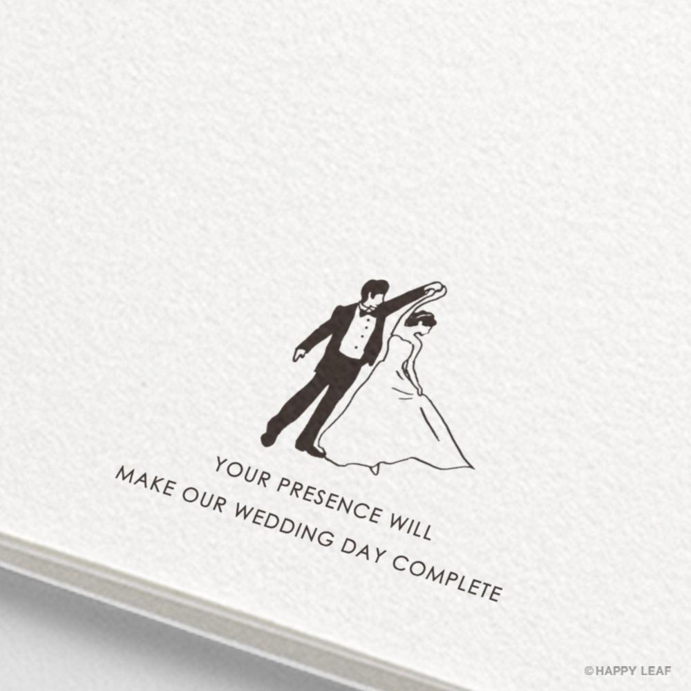 結婚式 招待状 brio ホワイト 5