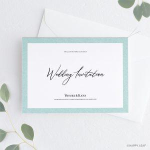 結婚式 招待状 Terrific ホワイト