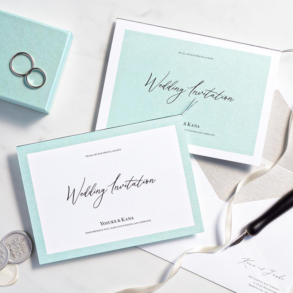 結婚式 招待状 Terrific ホワイト 1