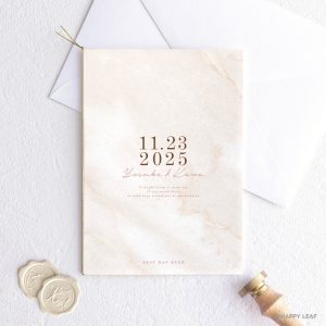 結婚式 招待状 Vows カッパー