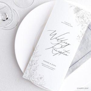 席次表 aria ホワイト -signature-