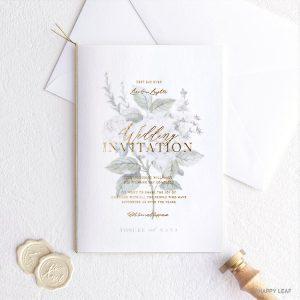 結婚式 招待状 Ranunculus