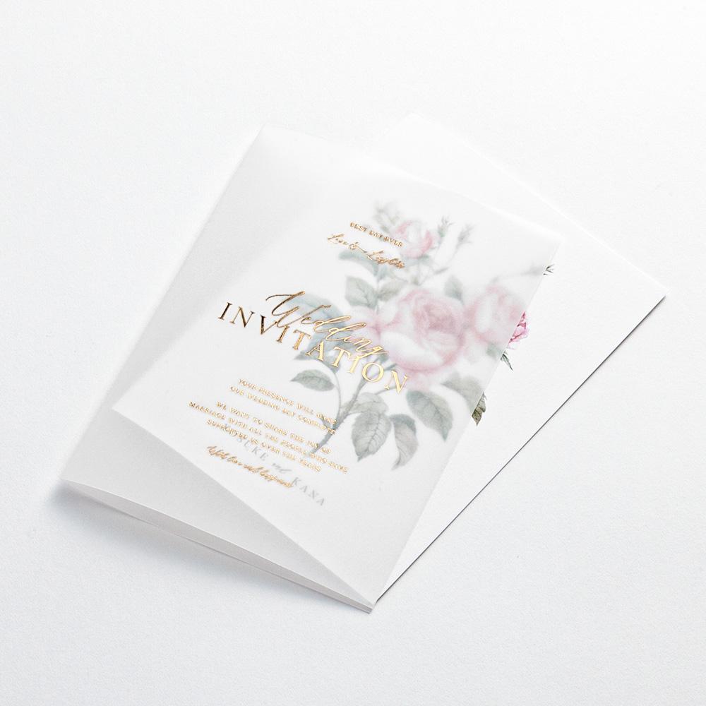 結婚式 招待状 Rose 3