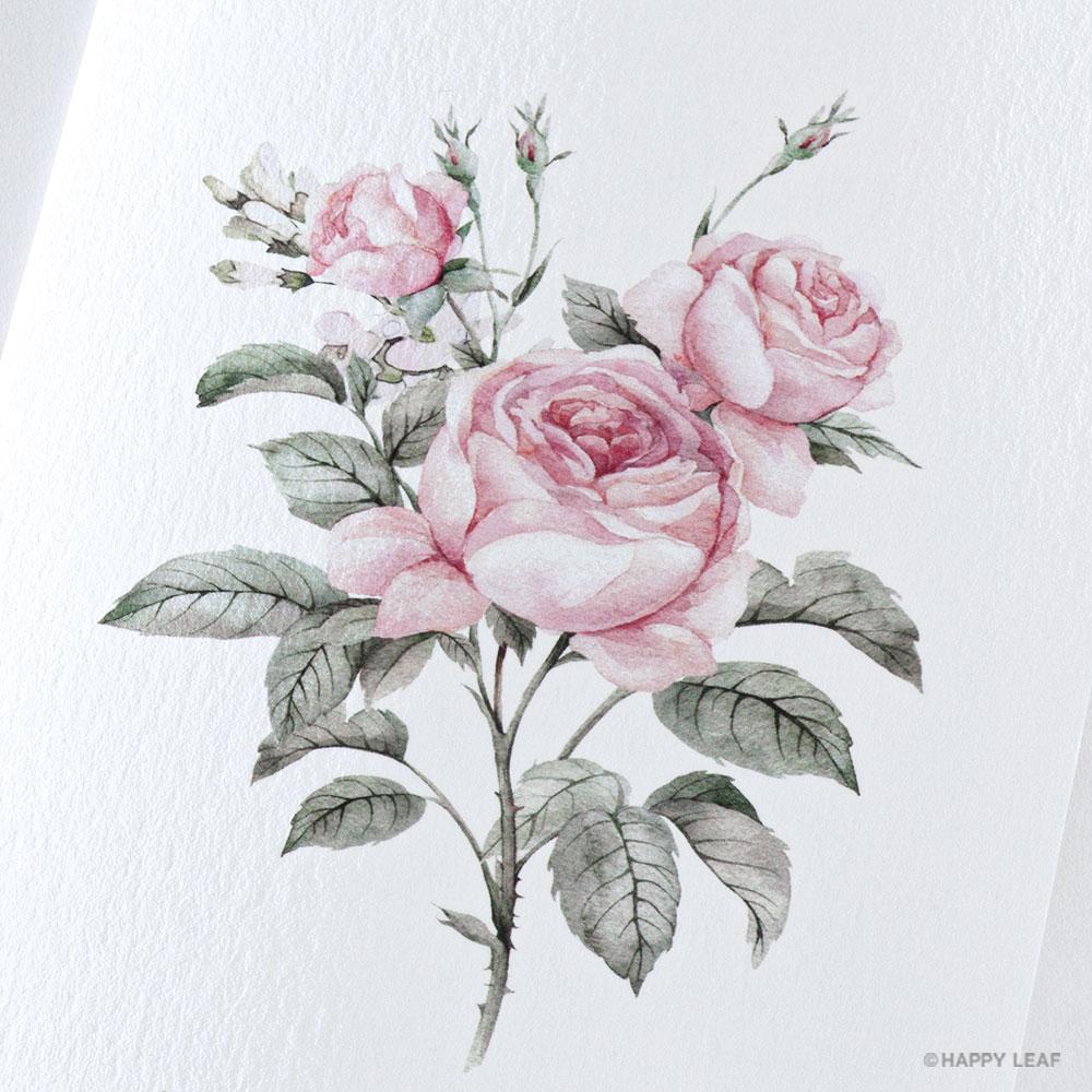 結婚式 招待状 Rose 5
