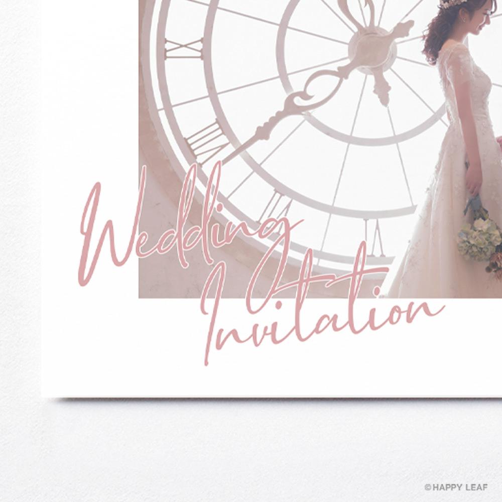 結婚式 招待状 annette カラー 4