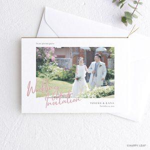 結婚式 招待状 annette カラー