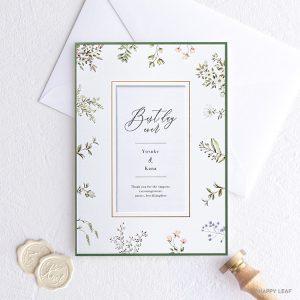 結婚式 招待状 florent / フローレン