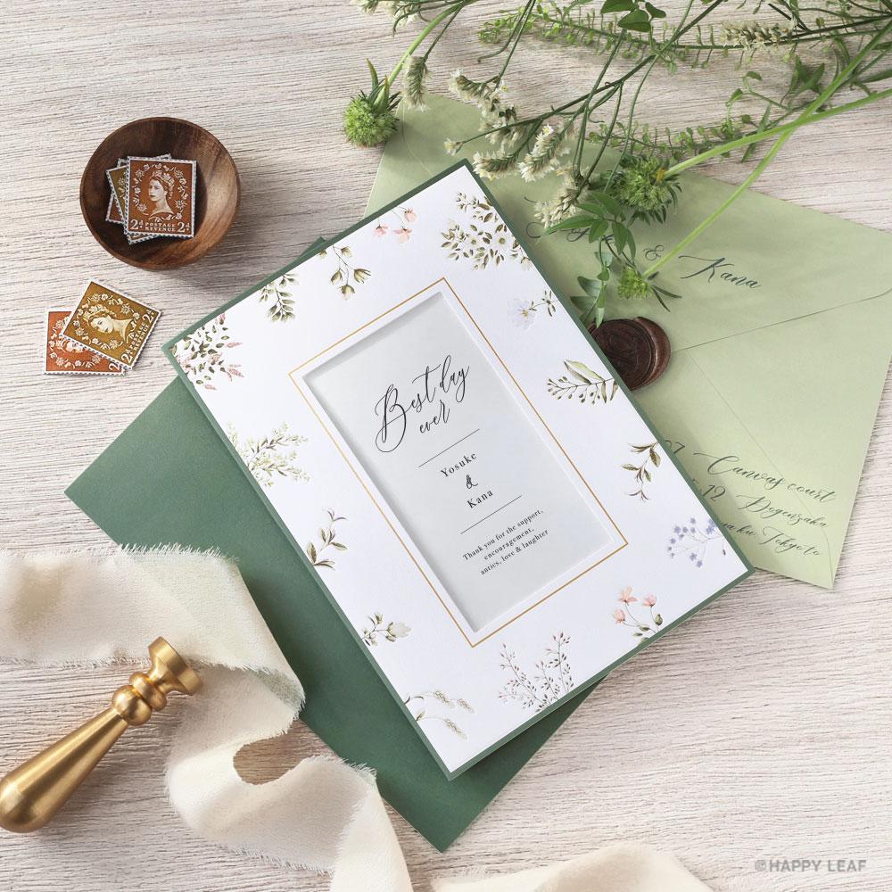 結婚式 招待状 florent / フローレン 1