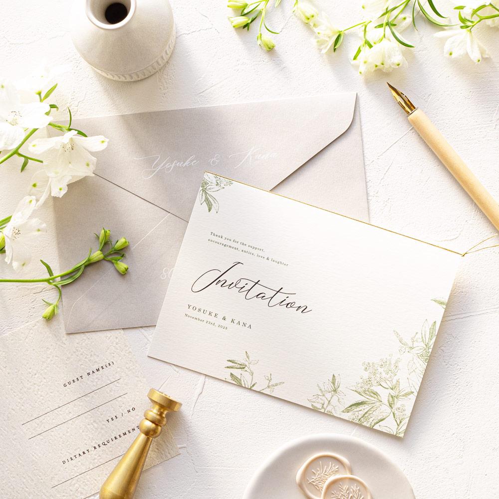 結婚式 招待状 prado 1