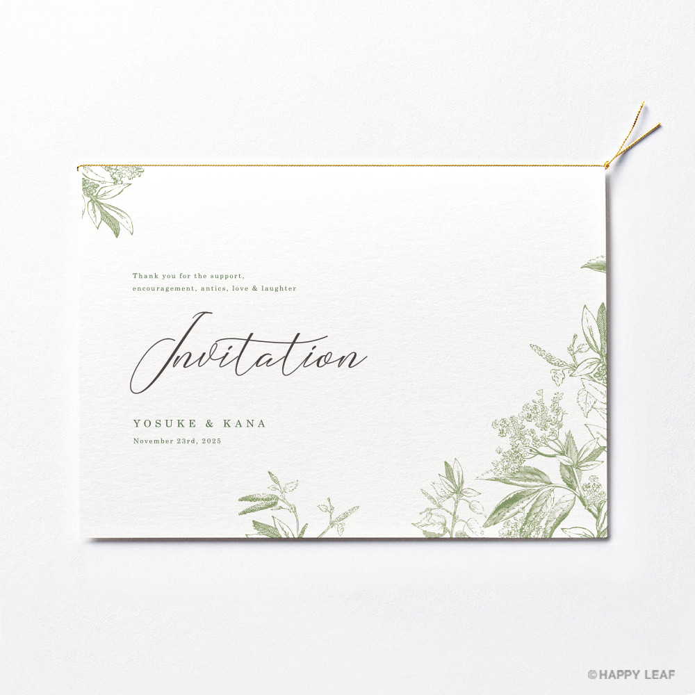結婚式 招待状 prado 2