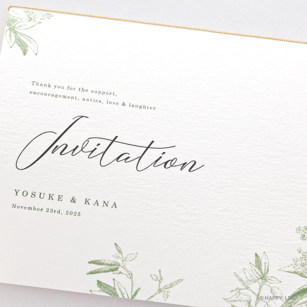 結婚式 招待状 prado 3